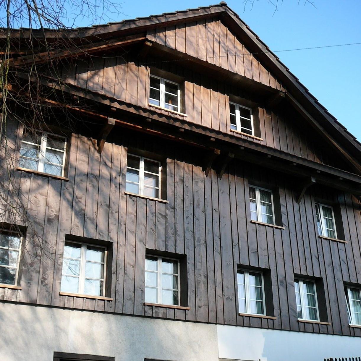 Fassade Holzbau