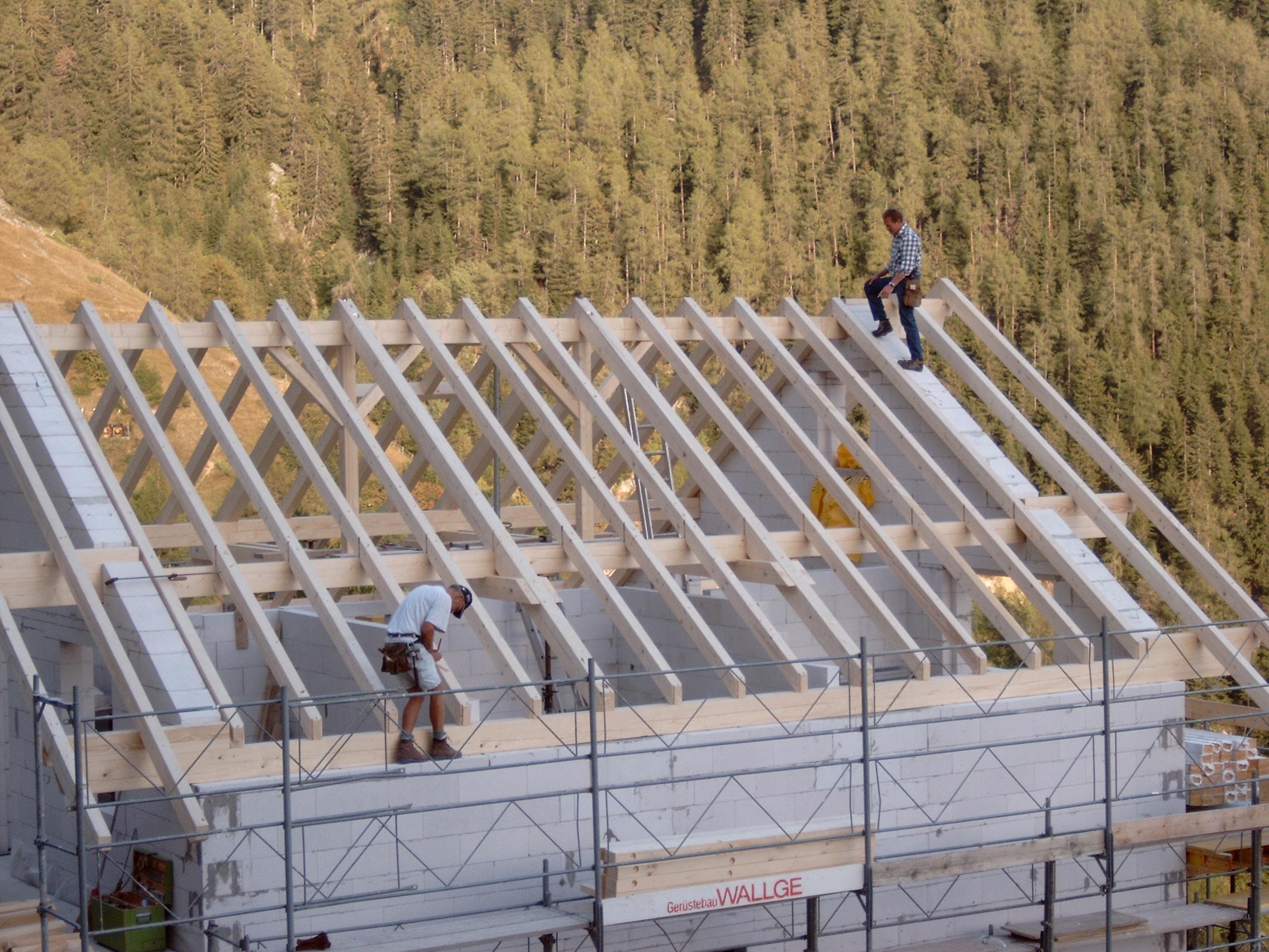 Neubau Holz