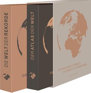 Der Atlas der Welt. Die Welt der Rekorde., Süddeutsche Zeitung Edition, Becker-PR, Verlags-PR