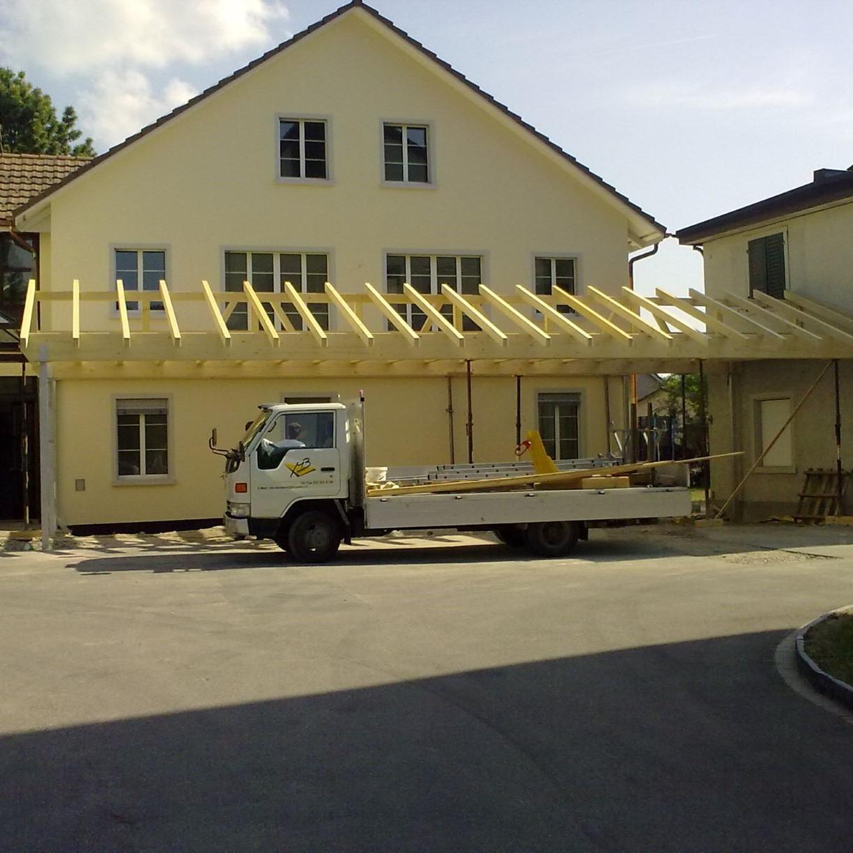 Holzbau Umbau