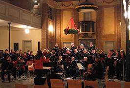 Weihnachtskonzert 2013 St. Pauli Kirche