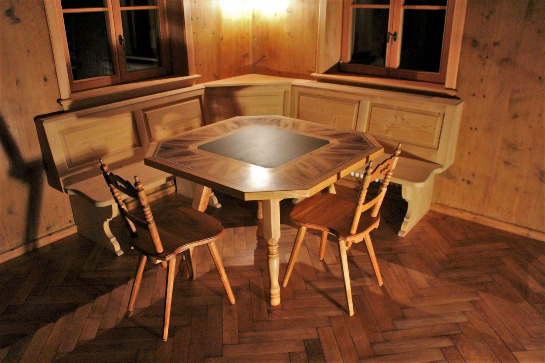 Schiefertisch Wohnzimmer | Mobel Und Kunsttischlerei Tschofen