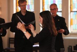 KlangRäume Konzert 2018 in der Friedenskirche Altona (Foto: Achim Sperber)