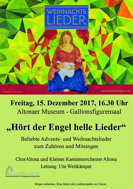 Beliebte Advents- und Weihnachtslieder mit ChorAltona und KKO im Altonaer Museum