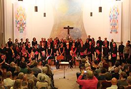 Konzert in der Nikodemuskirche Berlin Neukölln, September 2014