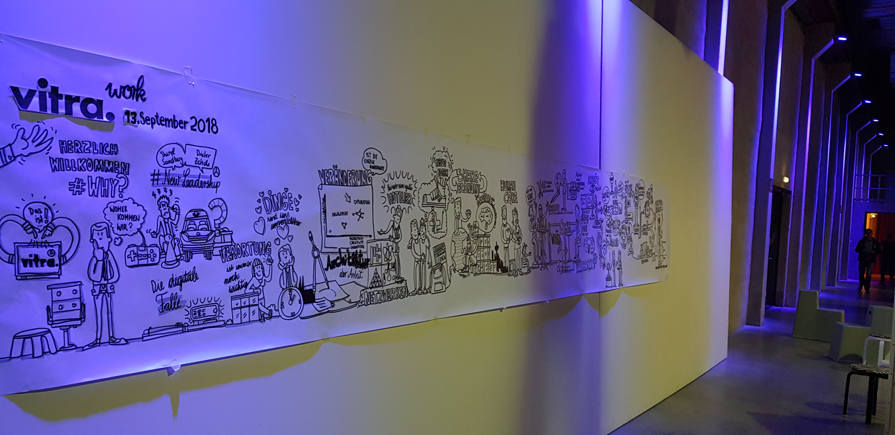 "Vitra Graphic Recording ""work"" Foto"
