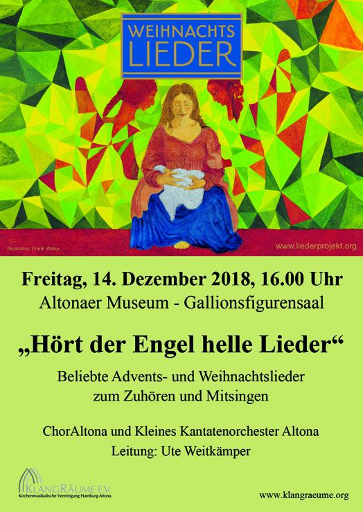 Weihnachtsliedersingen 2018 im Altonaer Museum