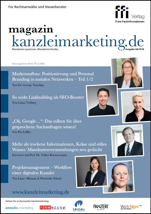 Magazin kanzleimarketing.de