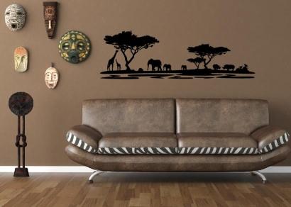 Afrika wandsticker