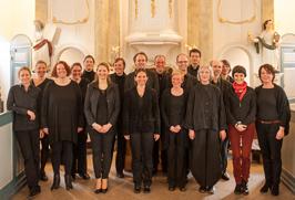Capella Peregrina, Streichtrio KlangRäume und Die fünf Temperamente, Kirche am Markt in Niendorf  2014 (Foto: Martin Zitzlaff)