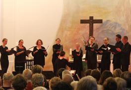 Capella Peregrina in der Nikodemus-Kirche Berlin 2014 (Foto: Achim Sperber)