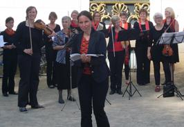 Offenes Singen im Jenischpark 2012