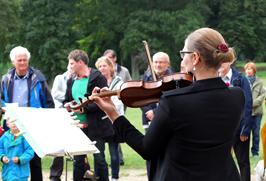 KKO beim Sommerfest Jenischpark 2013 (Foto: Matthias Seeberg