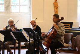KKO bei der Probe im Kloster Michaelstein 2012