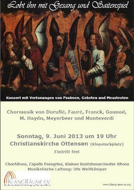 KlangRäume Sommerkonzert 2013: Lobt ihn mit Gesang und Saitenspiel