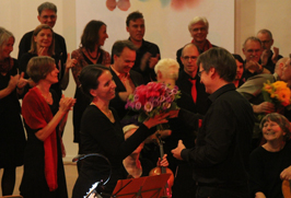 Konzertapplaus in der Nikodemuskirche Berlin 2014