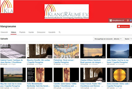 KlangRäume YouTube Kanal