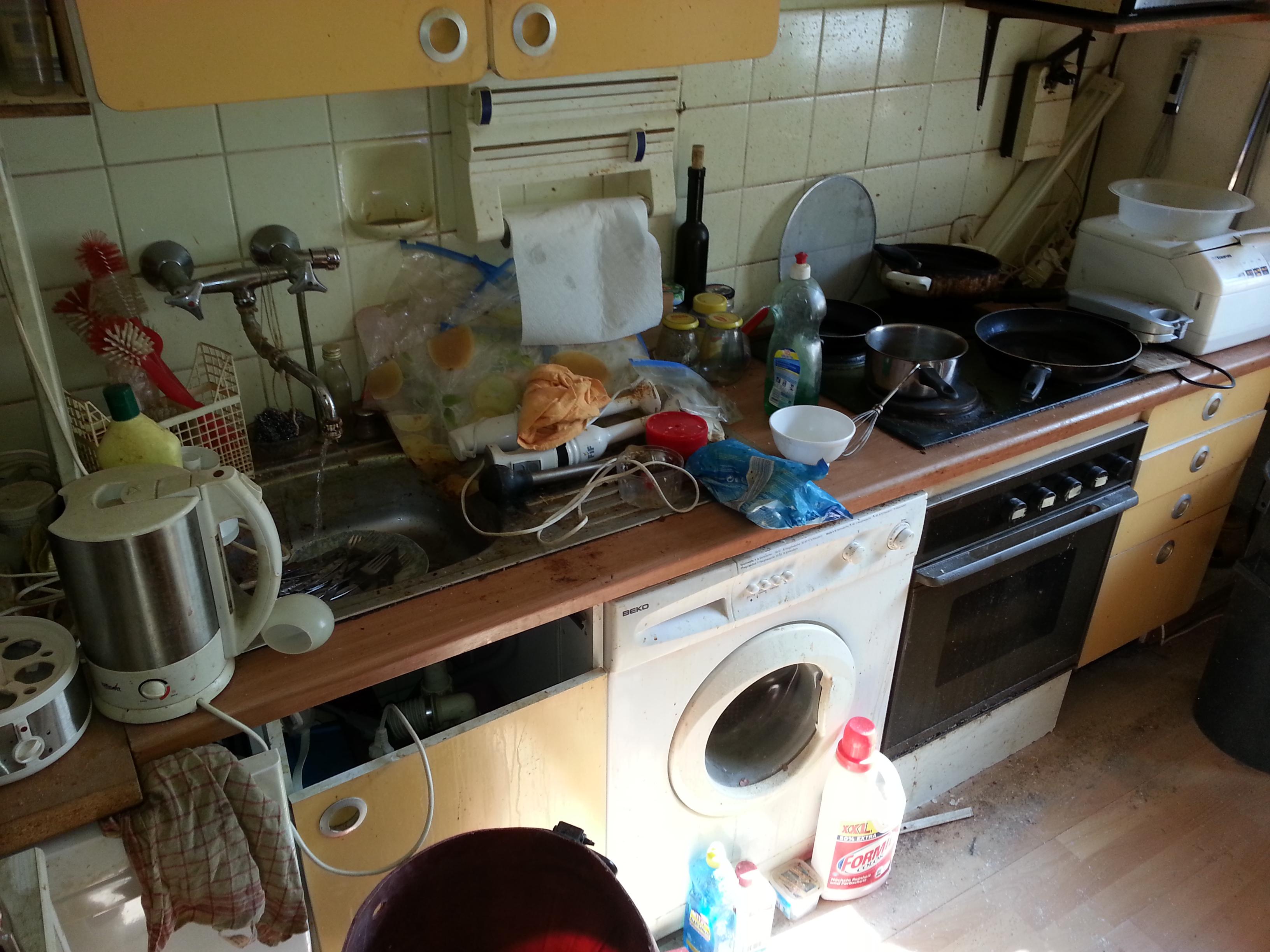 Messie Küche