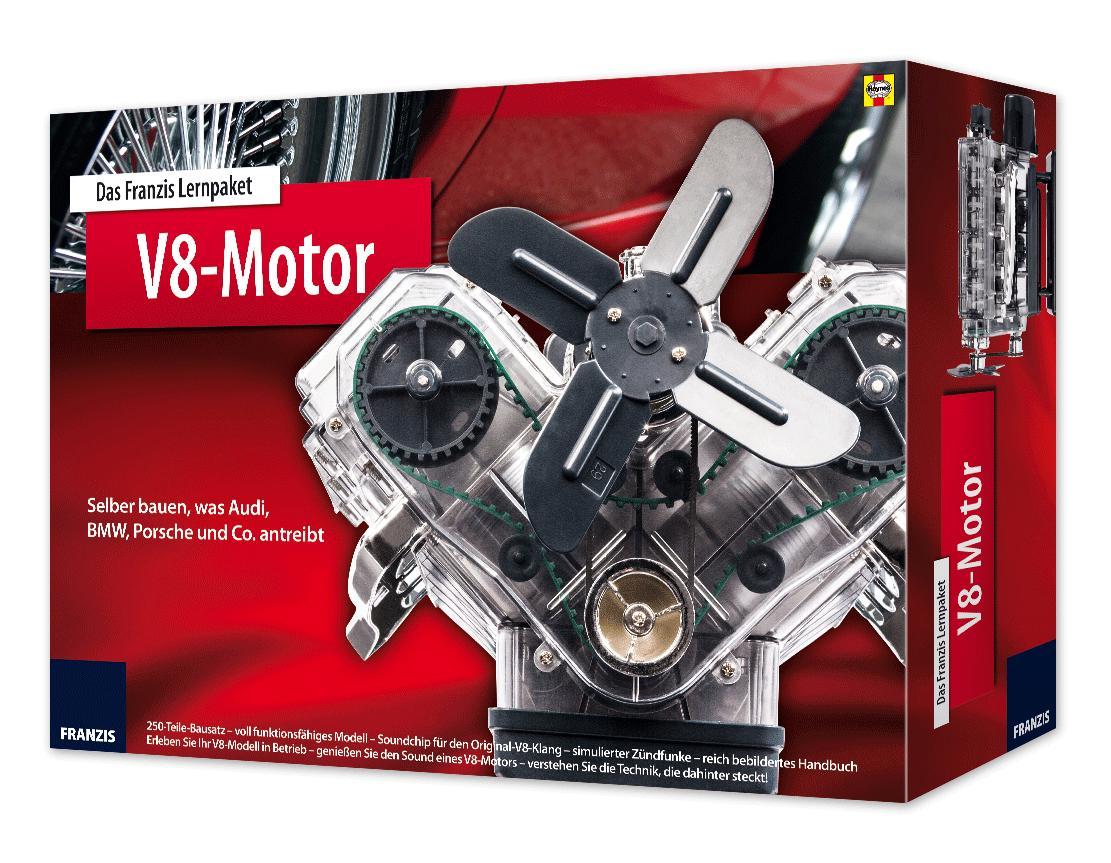Das Franzis Lernpaket V8-Motor, Becker Buch PR