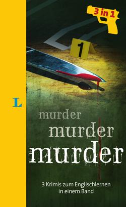 Murder, Murder, Murder, Langenscheidt, Becker-PR, Buch-PR