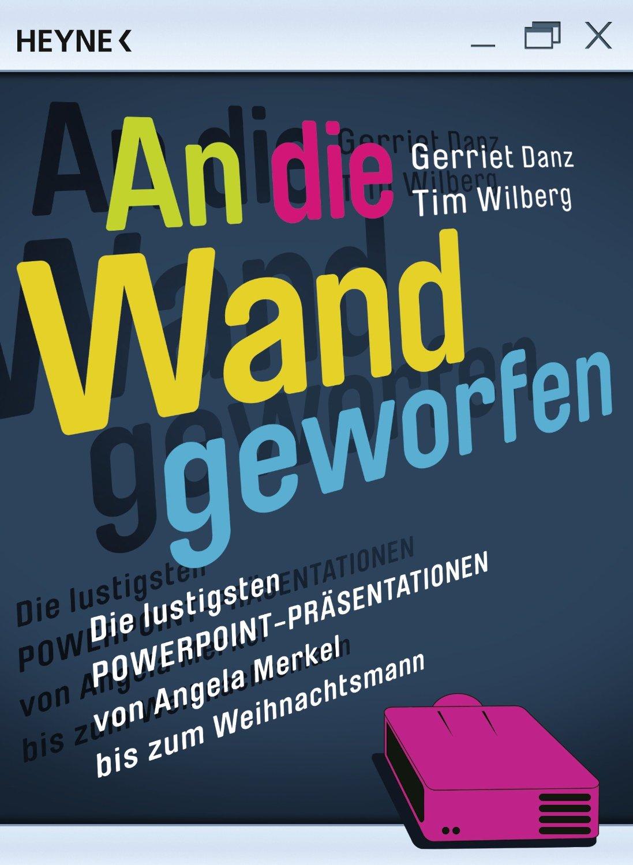 An die Wand geworfen, Gerriet Danz und Tim Wilberg, Becker-PR, Buch-PR