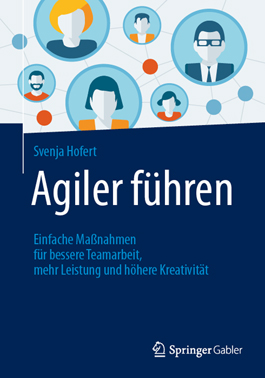 Agiler führen, Svenja Hofert, Becker-PR, Buch PR