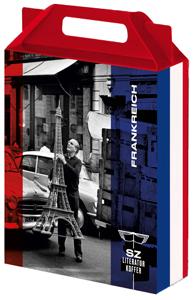 SZ Literaturkoffer, Süddeutsche Zeitung Edition, Becker-PR, Verlags-PR