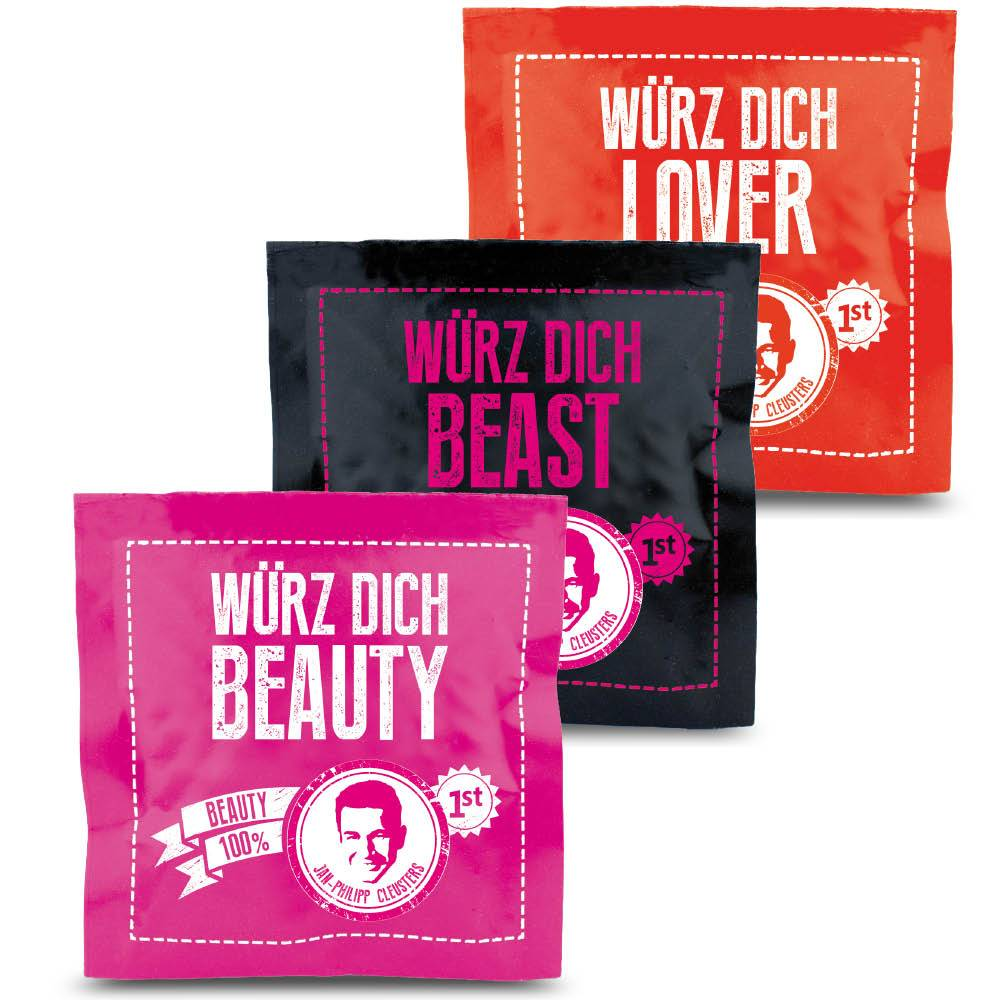 Beauty Gewürzmischungen, Spizecompany, Buch-PR