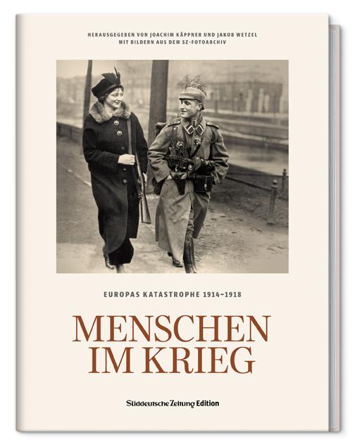 Menschen im Krieg, SZ Edition, Becker-PR