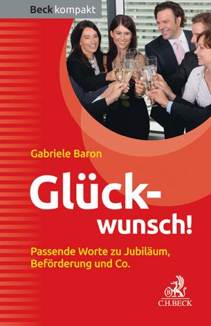 Glückwunsch!, Gabriele Baron, Becker-PR, Buch-PR