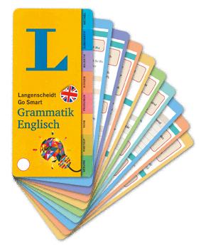 Go Smart-Fächer Grammatik Englisch, Langenscheidt, Becker-PR, Verlags-PR
