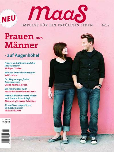 maaS Magazin, Frauen und Männer - Augenhöhe!, Buch-PR, Becker-PR