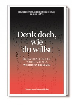 Denk doch, wie du willst!, Süddeutsche Zeitung Edition, Buch-PR, Becker-PR
