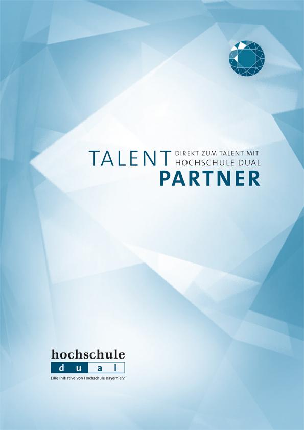 Direkt zum Talent mit hochschule dual, Informationsbroschüre für Unternehmen und Organisationen