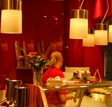 Imbiss beheizen Fastfood Fast Food Betrieb Schnellimbiss