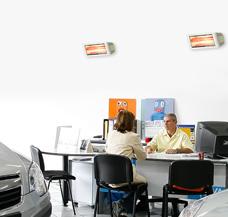 beheizen Büro Büroraum Meetingraum