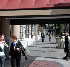 Hoteleingang beheizen Eingang Eingangsbereich Empfang