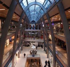 Ladenpassage Einkaufszentrum heizen