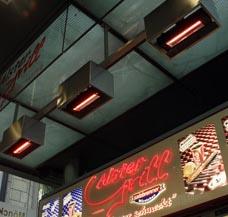 Imbiss heizen Fastfood Fast Food Schnellimbiss