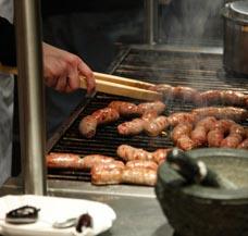 Imbiss beheizen Fastfood Fast Food Schnellimbiss