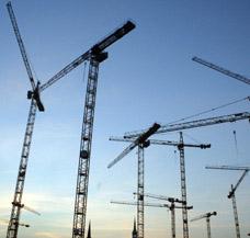 Baustelle beheizen Rohbau Rohbauten aussen gezielt Baustellenheizung