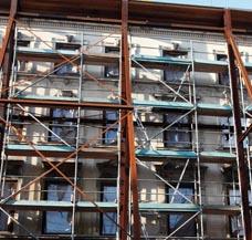 Baustelle beheizen Baustellenheizung Rohbau aussen