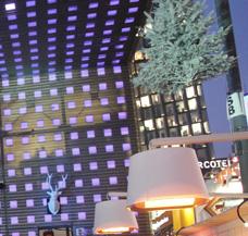 beheizen Verkaufsstand Hütte Bude Marktstand Weihnachtsmarkt