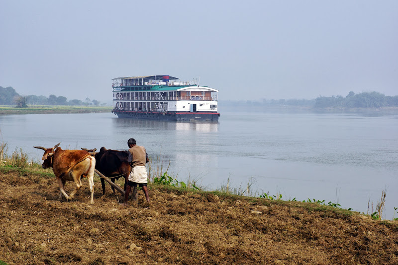 RV Bengal Ganga Kreuzfahrt Ganges