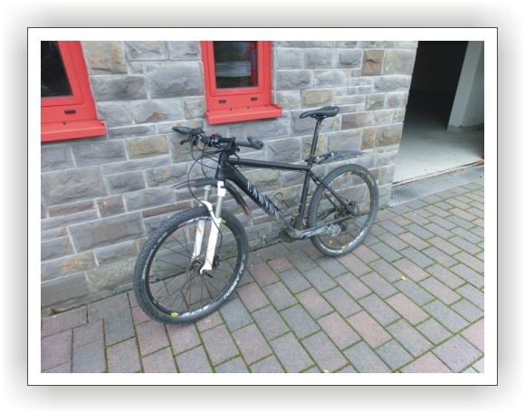 Unsere Fahrräder - Nr 3 - Canyon-Mountainbike