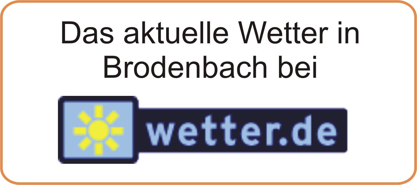 das aktuelle Wetter in Brodenbach