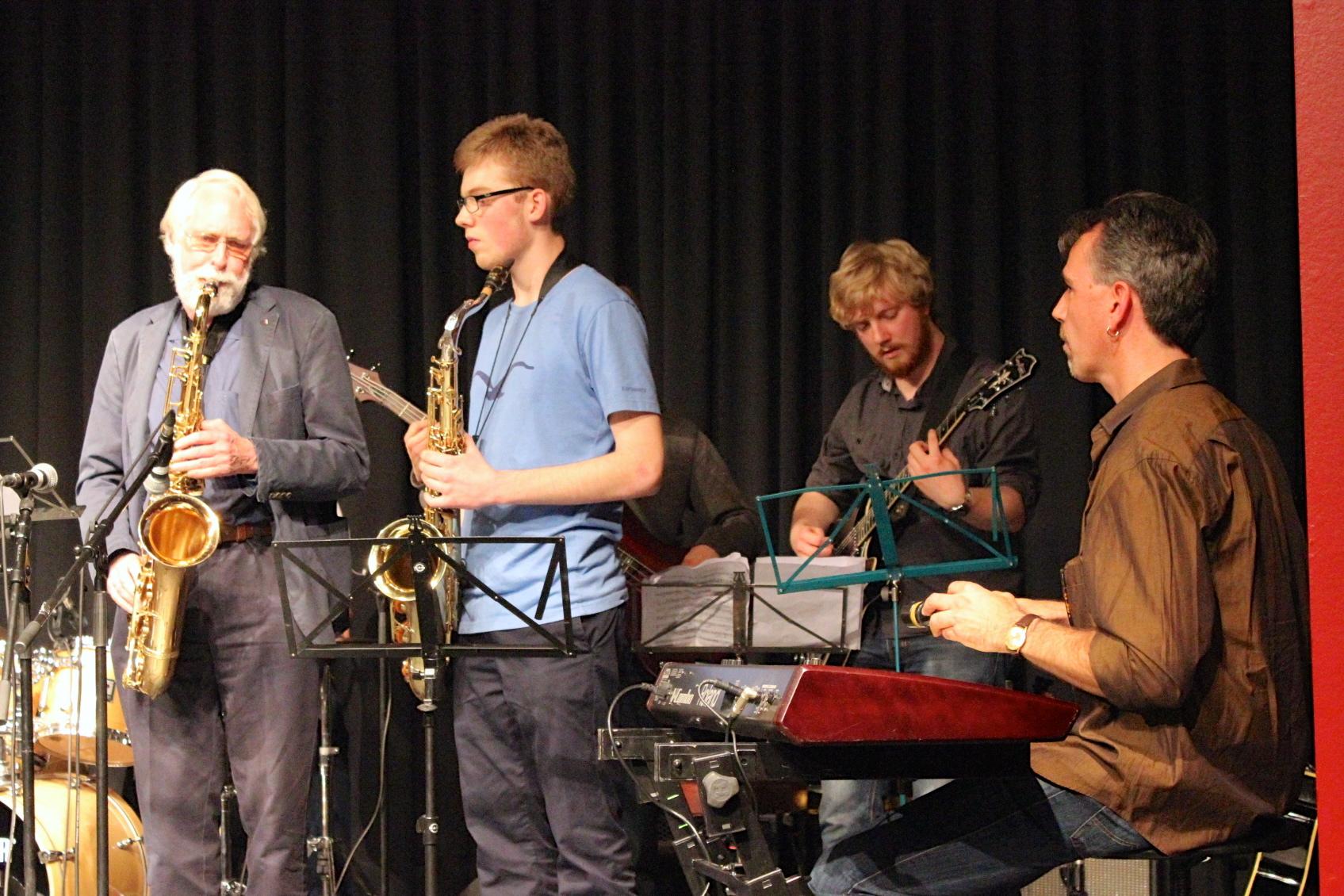 Abschlusskonzert 2014, im Marstall Ahrensburg