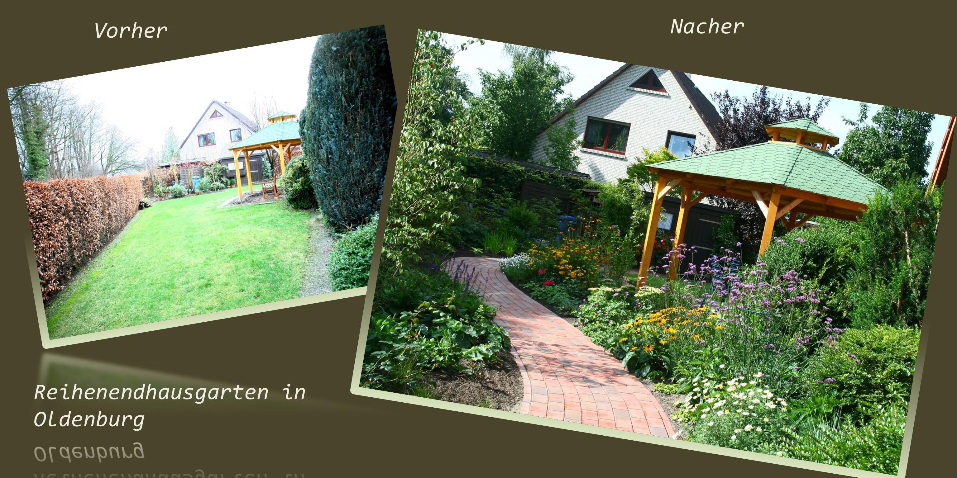 Grten Vorher Nachher. Kleinen Garten Gestalten Vorher Nachher U ...