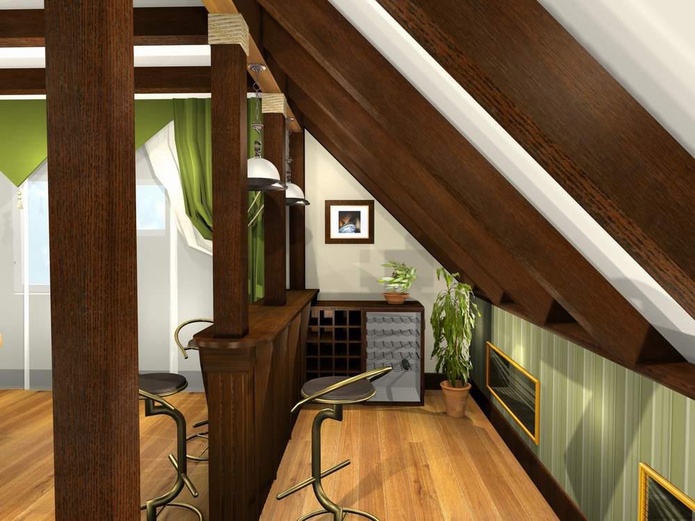 Мансардный балкон дизайн.