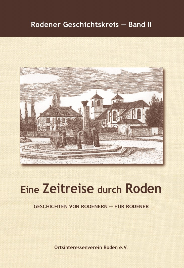Cover Buch Roden